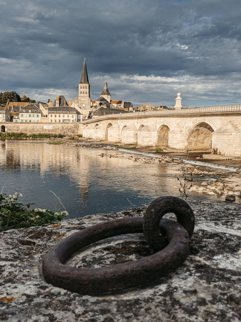 La Charité sur Loire avant l'orage